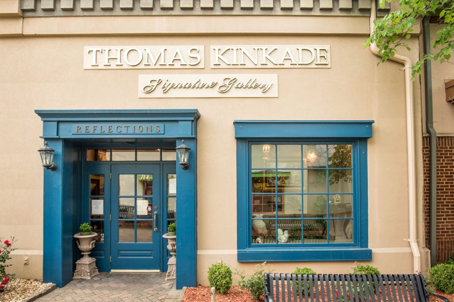 exterior of Thomas Kinkade's Signature Gallery